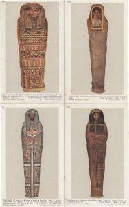 Egyptian Coffin Tombs Graeco Roman Lady Heshepthet 4x Postcard s