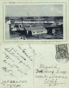 libya libia, BENGASI, Panorama della Parte Giuliana (1929) Stamp