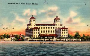 Florida Palm Beach The Palm Beach Biltmore 1944
