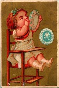 Victorian Trade Card Mcferrin, Shallcross & Co Louisville KY Magnolia Ham Curers