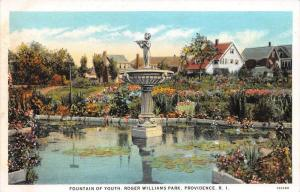 11272 RI  Roger Williams Park   Fountain of Youth