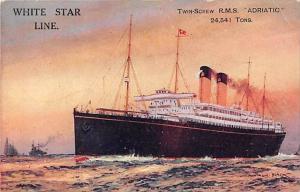 R.M.S. Adriatic, White Star Line