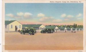 Virginia Petersburg Station Hospital Camp Lee 1942 Curteich