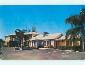 1950's JOHNNY'S MOTEL Sarasota Florida FL s8643