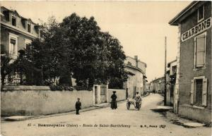 CPA BEAUREPAIRE - Route de St-Bartheleny (392271)