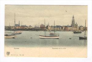 Anvers , Panorama de la ville, Belgium, 1890s-1905