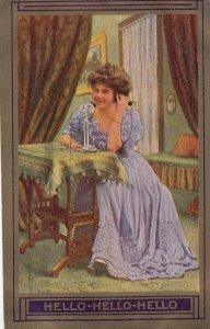 Woman on Stick Telephone , 00-10s