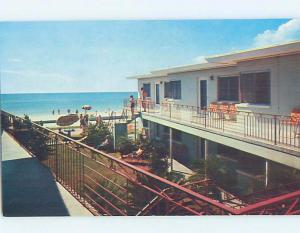 Pre-1980 APARTMENT MOTEL Treasure Island - Near St. Petersburg & Tampa FL c3153