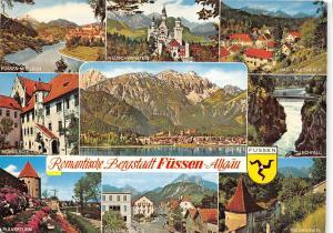 GG1163 romantische bergstadt fussen allgau    germany