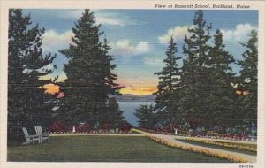 View At Bancroft School Rockland Maine