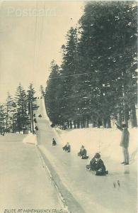 Canada, Quebec, Montmorency Falls,  Slide