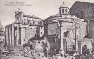Italy Roma Rome Foro Romano Tempio di Romolo e Telpio di Faustino