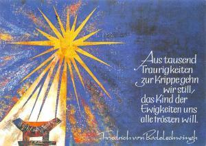 Sky Star Shining Aus tausend Traurigkeiten zur Krippe gehn wir still Friedrich