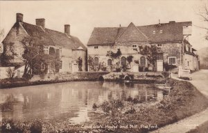 TUCK; FLATFORD, Suffolk, England, United Kingdom; Constable's House and Mill,...