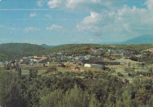France Valbonne Sophia Antipolis Vue generale Le complexe scolaire et le Plateau