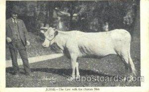 Jessie, Cow with Human Skin Circus Oddities Unused light corner and edge wear...