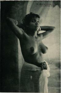 CPA MAROC Scenes et Types. Jeune Femme arabe ETHNIC NUDE (573958)