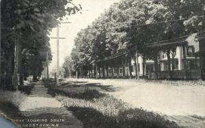 Broadway looking South - Woodstock NB, New Brunswick, Canada - pm 1909 - DB