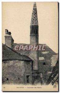 Postcard Old Death Bayeux Lantern of the Dead