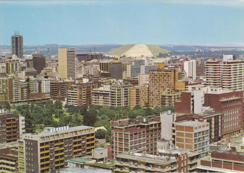 JOHANNESBURG, South Africa, 1950-1970's; View Of The West Side Of The City, S...