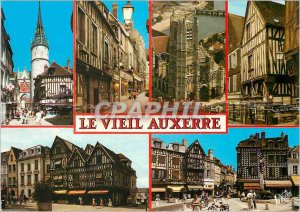 Modern Postcard The old Auxerre (Yonne) The tour of the tower clock Gaillard ...