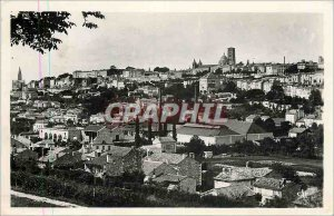 Modern Postcard Angouleme Panorama taken of St. Martin