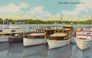 TOMS RIVER , New Jersey , 1930s ; Yacht Basin