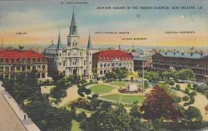 Louisiana New Orleans Jackson Square In The French Quarter