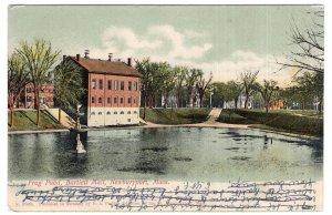 Newburyport, Mass, Frog Pond, Bartlett Mall