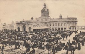 KINGSTON , Ontario , 1910 ; Market Square
