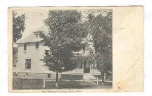 Strong, Maine , 00-10s : New Methodist Parsonage