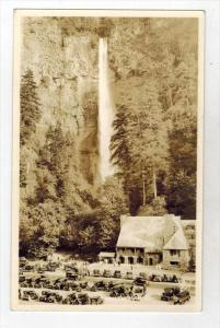 Oregon  Portland ,  MULTNOMAH LODGE & FALLS, RPC