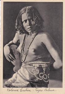 Colonia Eritrea -Leipo Bilena , 20-30s Native Girl