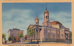 Maryland Baltimore Cathedral and Y M C A Building 1944