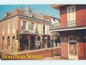 Pre-1980 SHOP SOME BOURBON STREET New Orleans Louisiana LA hn5141
