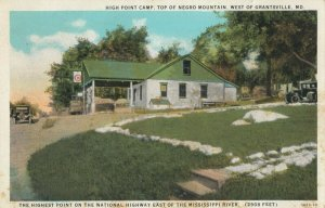 NEGRO MOUNTAIN , Maryland , 1934 ; High Point Camp