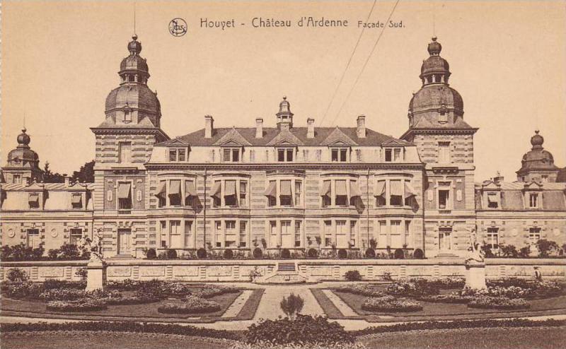 Houyet, Chateau d'Ardenne, Facade Sud, Namur, Belgium, 00-10s