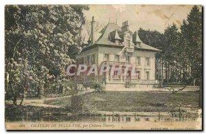 Old Postcard Chateau de Velle view Chateau Thierry