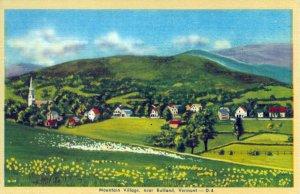 [ Linen ] US Vermont Rutland - Mountain Village Near Rutland