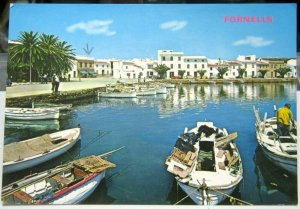 Spain Fornells Menorca Puerto - posted