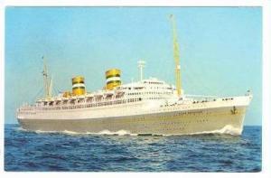 Holland American Line, S. S. Nieuw Amsterdam, Netherlands, 1940-60s