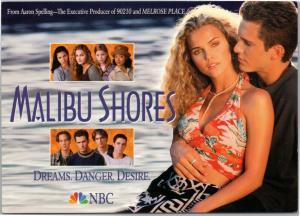 postcard Malibu Shores -  NBC series Keri Russell Christian Campbell