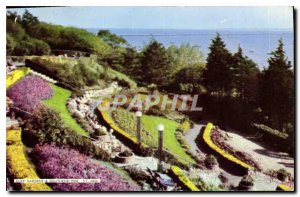 Postcard Modern Cliff Gardens, and Southend Pier S T