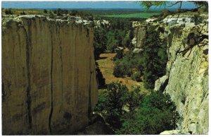 US  El Morro National Monument, New Mexico. unused. Beautiful.