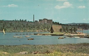 SUDBURY , Ontario, Canada, 40-60s; Yacht Club , Ramsey Lake