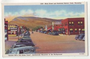 P668 JLs old cars st. scene buffalo bills old home town cody wyoming