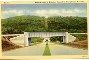 PA - Pennsylvania Turnpike -  Western Portal of Kittatinny Tunnel