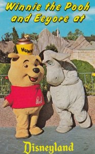 DISNEYLAND, 1950s-60s; Winnie the Pooh and Eeyore