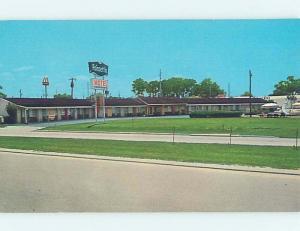 Unused Pre-1980 MOTEL SCENE Leesburg - Near Ocala & Orlando Florida FL G6593