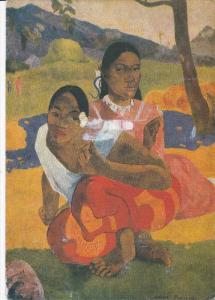 Paul Gauguin painting ; Nafea faaipoipo , TAHITI , PU-2000